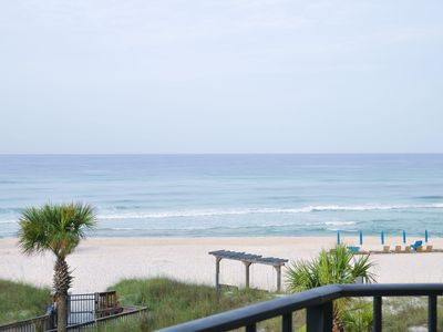 Photo for Discounted rates due to construction.  Beachfront with gorgeous views.