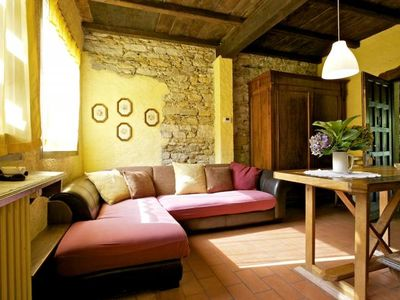Photo for Holiday home in a former mill from the 18th century. With 10 000 m² of land and pool