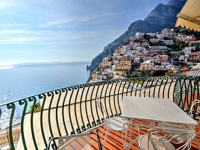 Photo for Villa Faustina B: A bright and sunny apartment located in the center of Positano, with Free WI-FI.