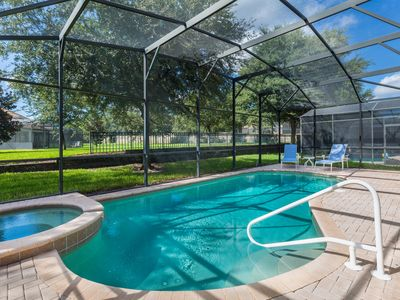 Photo for Enjoy the Sun!  Featuring South Facing Pool - 4 Bdrm Villa At Windsor Hills