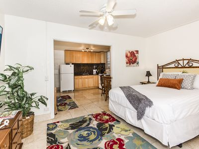 Photo for Remodeled Condo by the Beach, Near Shopping, Full Kitchen, FREE Parking!