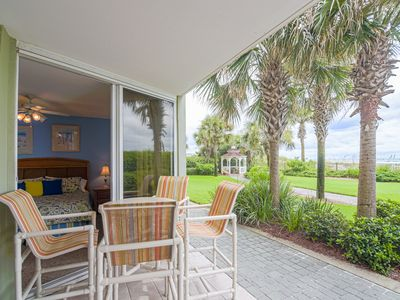 Photo for Steps Away From the Sand and the Pool, Ground Floor, Unit 116,  Best Location