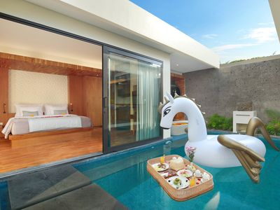 Photo for 1 Bedroom Villa with Private Pool and Floating Bathtub