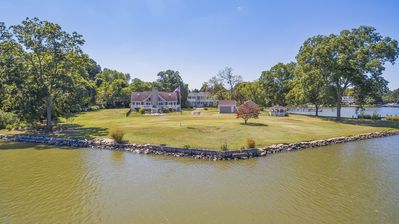 Photo for Private Waterfront Home w/ Pier and 2+ Acres!