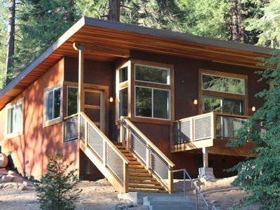 Photo for This chalet inside the gates of Yosemite National Park was just built in 2016