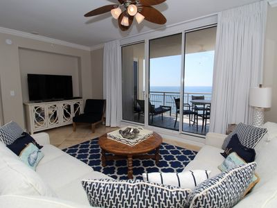 Photo for Indigo East 1702- Beach Front Unit with Luxurious Interior and Amenities!