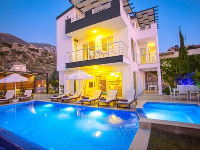 Photo for Luxurious 6 Bedroom Villa with Magnificent panoramic views over Kalkan