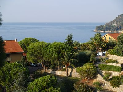 Photo for Independent studio with garden and sea view