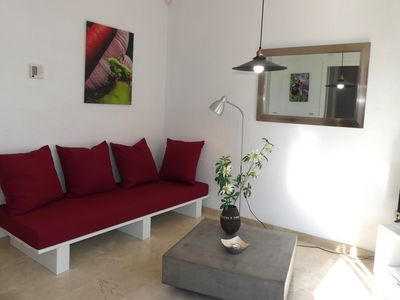 Photo for New and top located! steps to the beach, port, promenade and city. no car needed