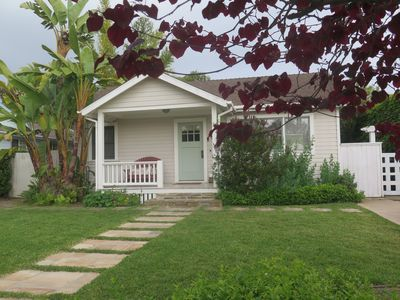 Photo for Spacious Beach Bungalow. Easy 2blk Walk to Beach, 3blks for dining & shopping!