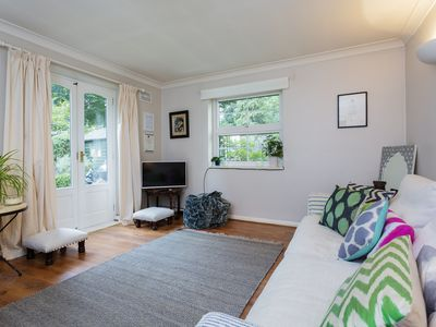 Photo for Truly exceptional annex in a charming garden sleeps 4 people comfortably (Veeve)