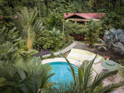 Photo for Casa Medina Jungle Home with AC and Pool