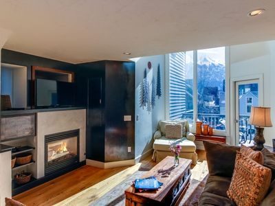 Photo for Upscale, multi-level condo w/ great mountain views - walk to ski lift