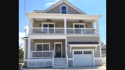 Photo for Newer home in Seaside Park NJ. 3 houses from OCEAN, 5BR/3.5 Bath