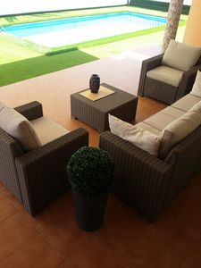 Photo for Costa Adeje Golf Course Villa with heated pool and special services