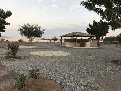 Photo for Oman getaway: Sidr eco-cabin, close desert, mountains, forts and village