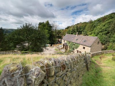 Photo for Charming Cottage with Peak District views and Indoor heated swimming pool