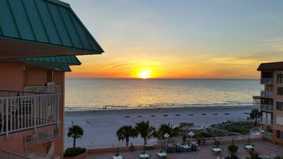 Photo for Indian Rocks Beach / Indian Shores Ocean Condo near Clearwater & St Petersburg