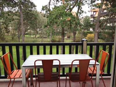 Photo for 1BR Apartment Vacation Rental in Tourgéville, Normandie