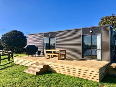 Photo for Kiwi Cabin - Private 2-Bedroom Tiny House