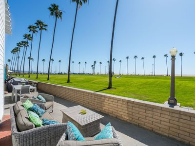 Photo for NEWLY REMODELED OCEANFRONT Dream RELAXING PATIO NEWPORT BEACH - 3 car parking