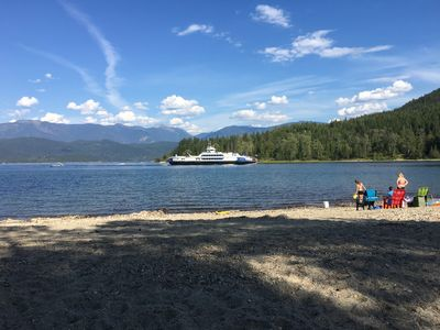 Photo for Private Beachfront Cottage on Kootenay Lake