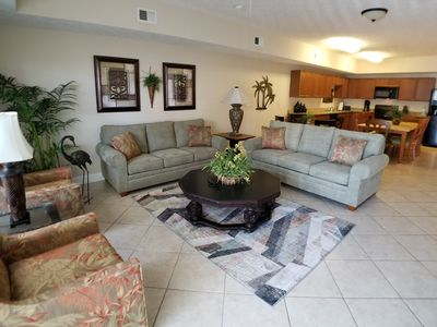 Photo for NEWLY REMODELED! 4BR/3Bath condo-Lazy River/Splash Zone-Great for Fam/Large Grp