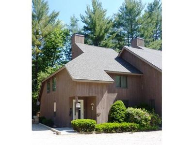 Photo for A great summer or winter house (condo) just a mile from Stratton mountain.