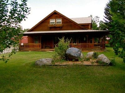 Beautiful 3 BR/2 BA Cedar Home on 1 acre along Rushing Horse Creek!