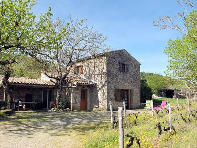 Photo for Vacation home Malbosc  in St. Genest - de - Beauzon, Ardèche - 6 persons, 2 bedrooms