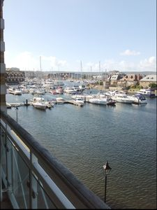 Photo for Superb Two Bed, Two Bathroom Flat, With Two Balconies With Marina View