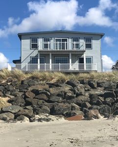 Photo for Beautiful oceanfront home, steps from the beach and a short walk to Lake Lytle