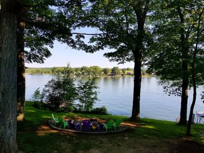 Photo for Cozy waterfront cottage on Rushford Lake, Sleeps 10, Letchworth, Holiday Valley
