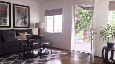 Photo for Modern House with Detached Studio, Views, Patio, and Walking Distance to Sunset