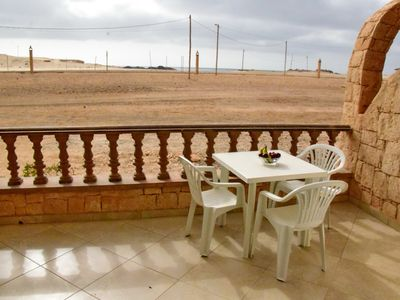 Photo for Extra spacious 80m2 sea-view apartment on Cabral beach