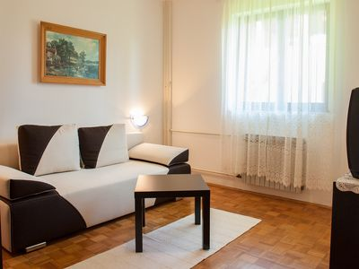 Photo for You will stay in an air-conditioned apartment with free WiFi and parking