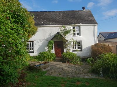 Photo for A magical cottage close to Falmouth and a short walk from the beach