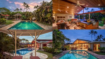 Photo for Five bedroom beachside house in Kailua