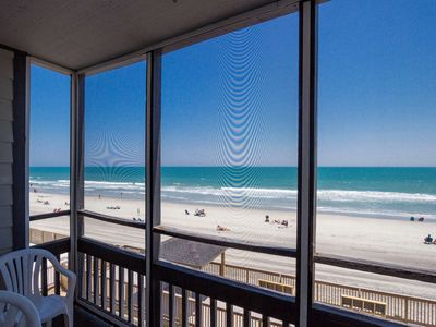 Sea Oaks, Beautiful Oceanfront 2 bedroom unit with Free Water Park, Aquarium, Golf & More Every Day!