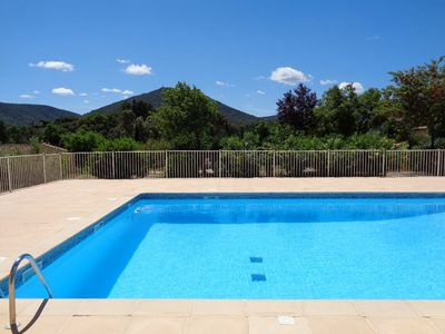 Photo for Apartment in Residence with pool in the center of the Village