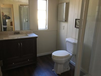 Photo for Lakefront quaint home newly renovated, sleep six with two full baths!