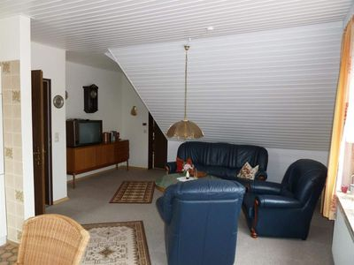 Photo for Apartment, shower / WC, 3 bedrooms - upper apartment Astrid