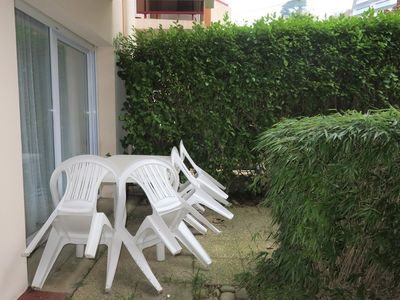 Photo for Apartment with garden, WIFI 200m from the beach of Trestraou to PERROS-GUIREC