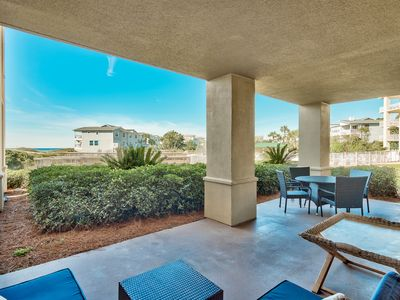Photo for San Remo 102/ pool.hot tub/just updated gr.floor, 3bdr -2 min walk to beach!