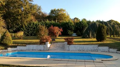 Photo for Villa with pool in the middle of the forest