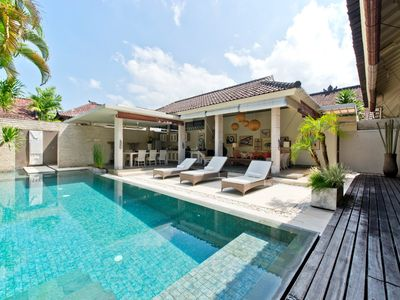 Photo for Sukapadi 2BR Villa, Eat St-Central Seminyak