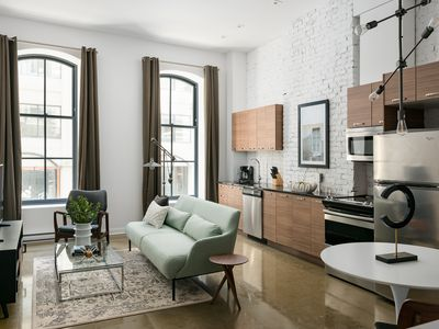 Photo for Colorful 1BR in Old Montreal by Sonder