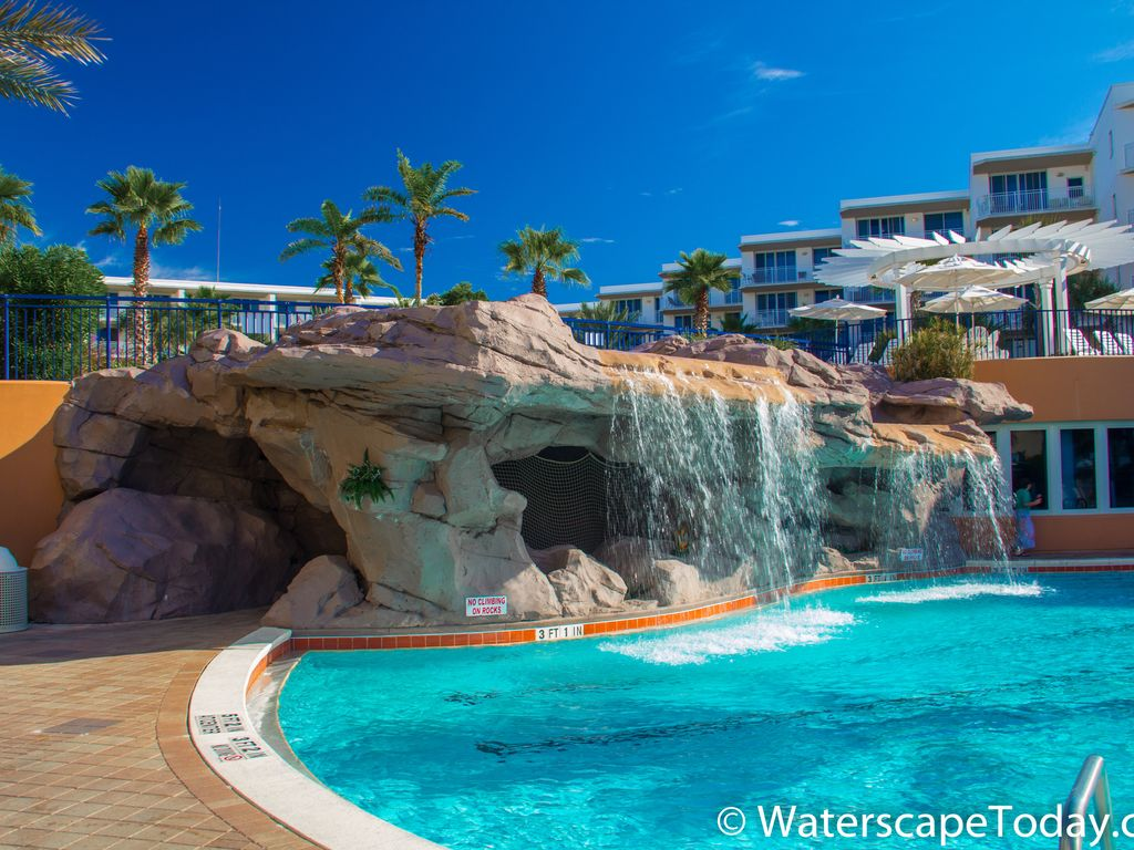 Waterscape Resort Waterfalls Lazy River And On The