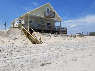 Photo for Ocean Front Get Away on Topsail Isand