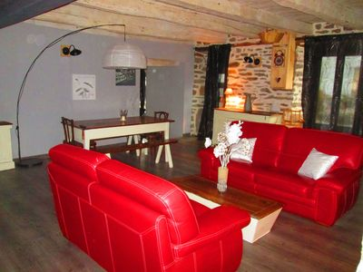 Photo for Charming cottage with pool, sauna, jacuzzi, Salers, Puy Mary